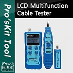 Prokit 케이블 테스터, LCD Multifunction Cable Tester
