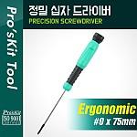 PROKIT (SD-086-P5), 정밀드라이버 - #0 * 75mm