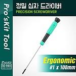 PROKIT (SD-086-P6), 정밀드라이버 - #1 * 100mm